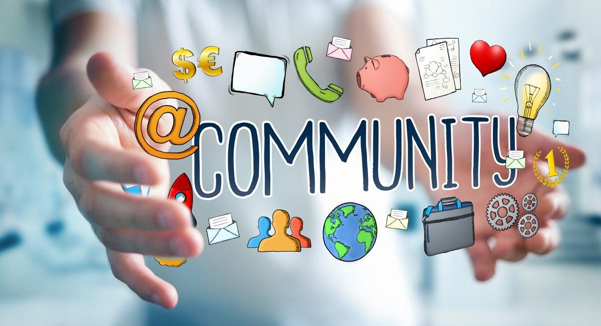 イベントレジストのコミュニティ支援機能